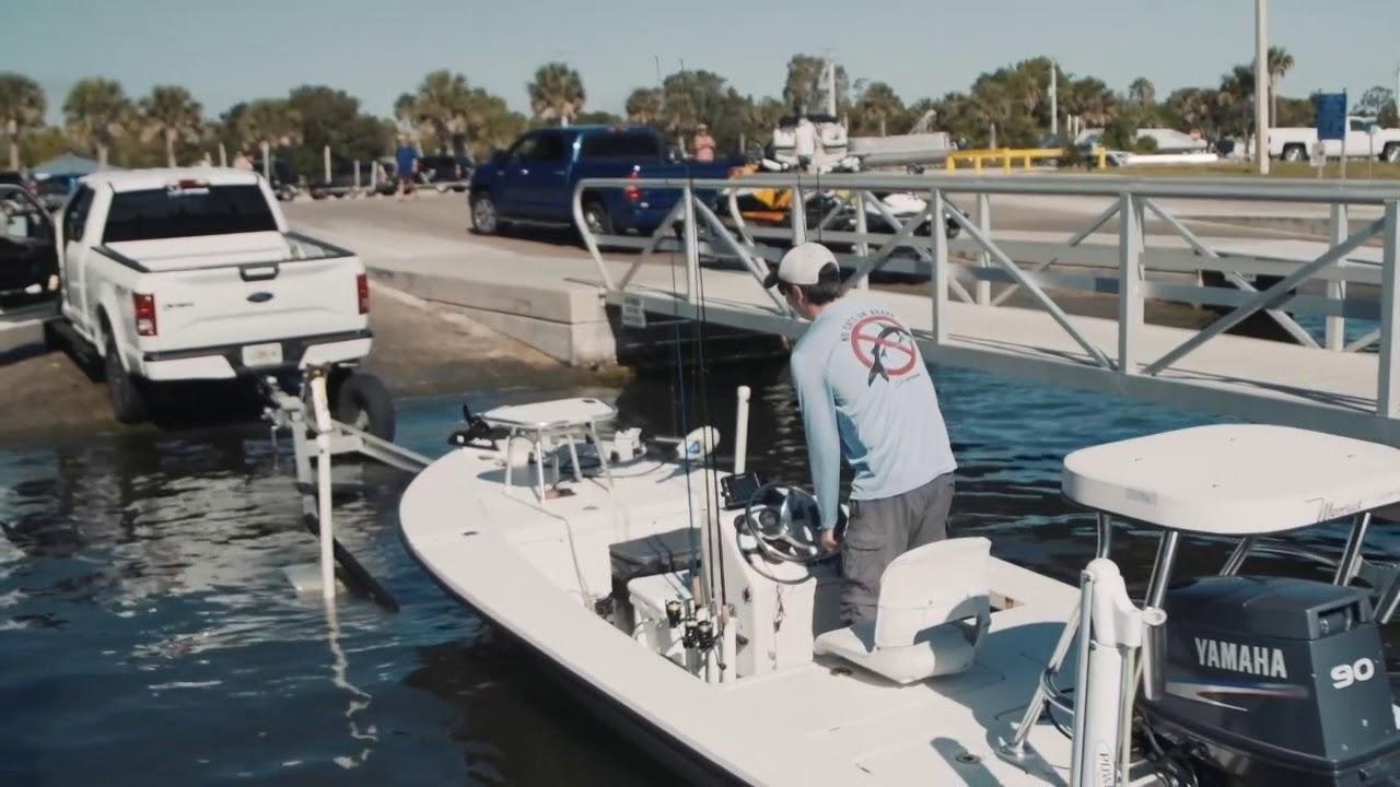 Launching a boat