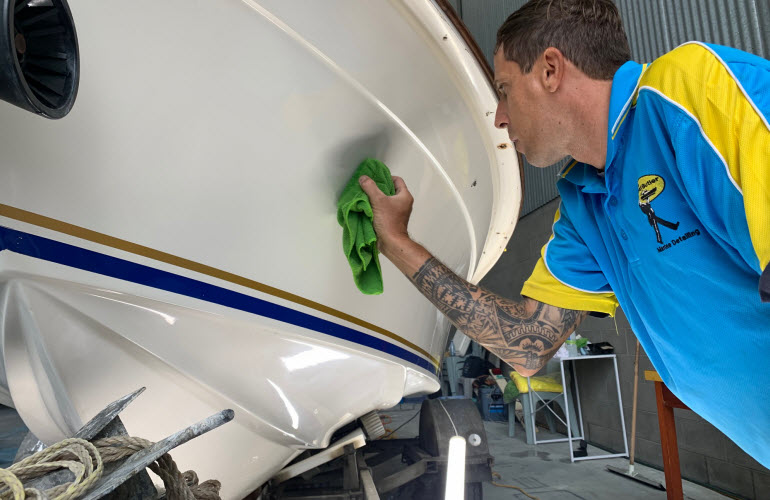Marine Vessel Regular Washing - The Boat Butler 0401 209 514
