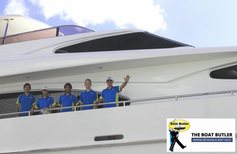 Boat Butler Professional Marine Vessel Detailing 0401 209 514 Gold Coast