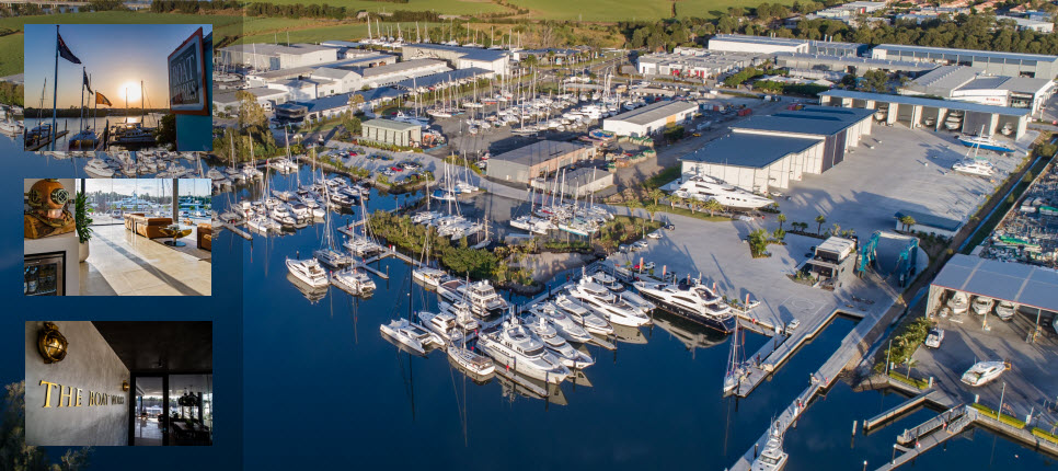 The Boat Butler Marine Refit Facility - The Boat Works Gold Coast Australia