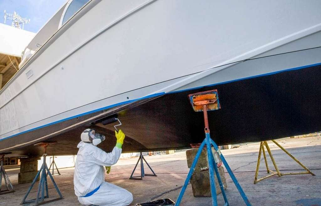 How often should you bottom paint your boat?
