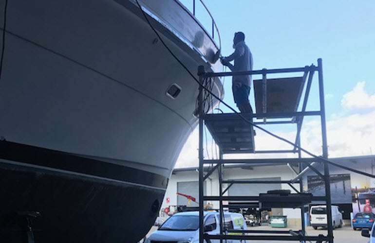Life Hack – Marine Vessel Washing